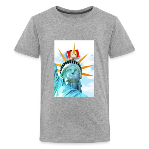 Lady Liberty Spikes Hillary - Kids' Premium T-Shirt