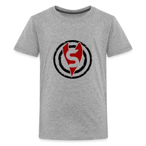 bullseye red black png - Kids' Premium T-Shirt