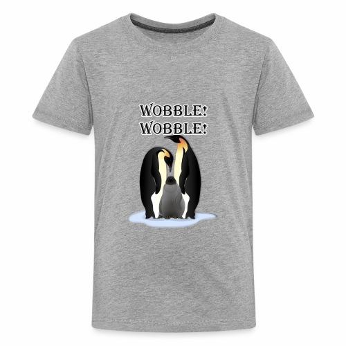 Wobbley Penguin - Kids' Premium T-Shirt