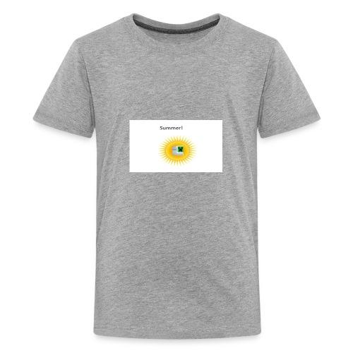 Mathify summer design - Kids' Premium T-Shirt