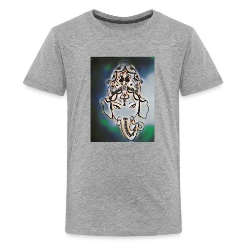 India henna dark - Kids' Premium T-Shirt