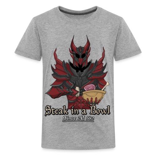 Steak in a Bowl Since 2E 582 - Kids' Premium T-Shirt