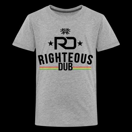 Righteous Dub Logo - Kids' Premium T-Shirt