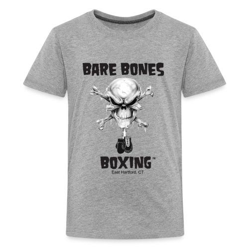 Bare Bones Boxing Logo - Kids' Premium T-Shirt