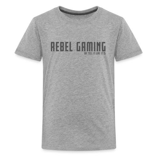 Rebel Gaming We Tell It Like It Is - Kids' Premium T-Shirt