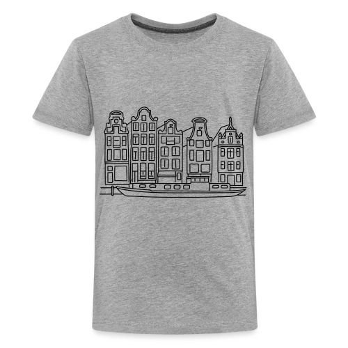 Amsterdam Canal houses - Kids' Premium T-Shirt