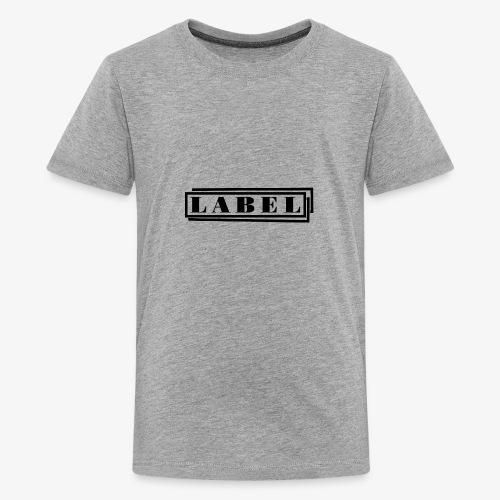 LABEL Logo - Kids' Premium T-Shirt