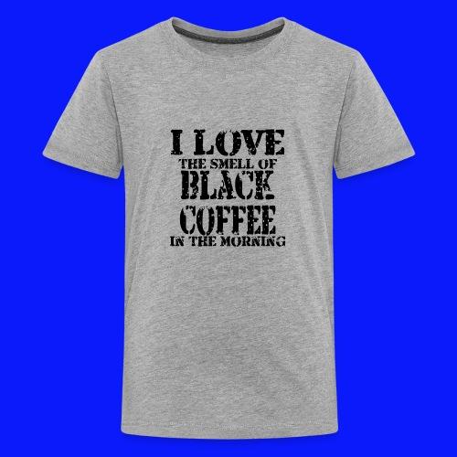 Love coffee smell copy - Kids' Premium T-Shirt