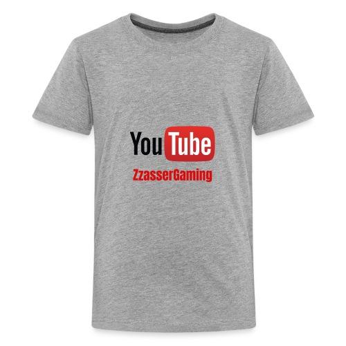YouTube ZzasserGaming - Kids' Premium T-Shirt