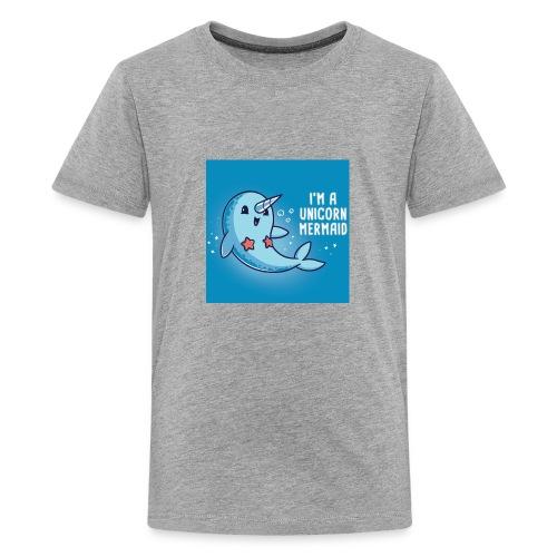im a unicorn mermaid unstable unicorns teeturtle 8 - Kids' Premium T-Shirt