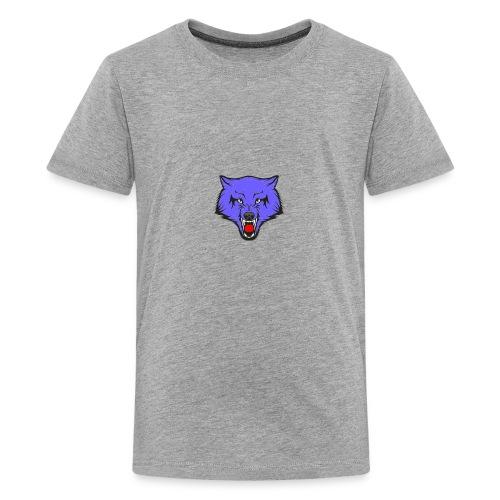 The Emblem Of A True WOLF - Kids' Premium T-Shirt