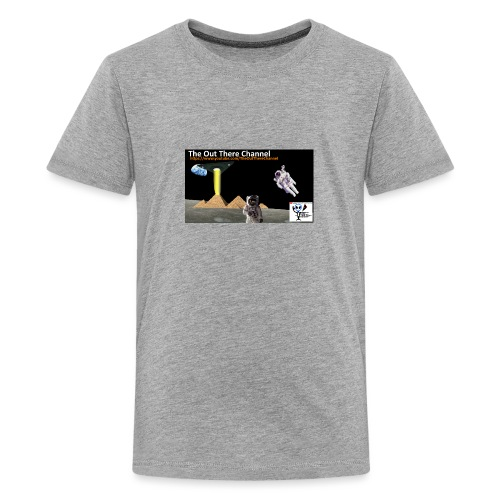 UFO Pyramids2019 TheOutThereChannel - Kids' Premium T-Shirt