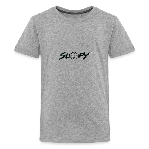 Sleepy Logo Black - Kids' Premium T-Shirt
