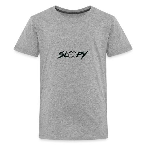 Sleepy Logo Black - Kids' Premium T-Shirt