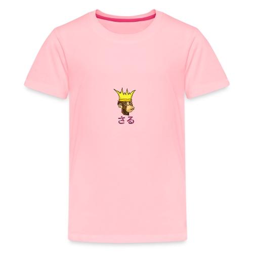 Saru King - Kids' Premium T-Shirt