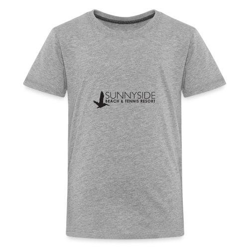Logo Large Black - Kids' Premium T-Shirt