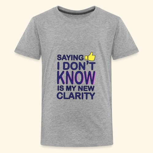 new clarity - Kids' Premium T-Shirt