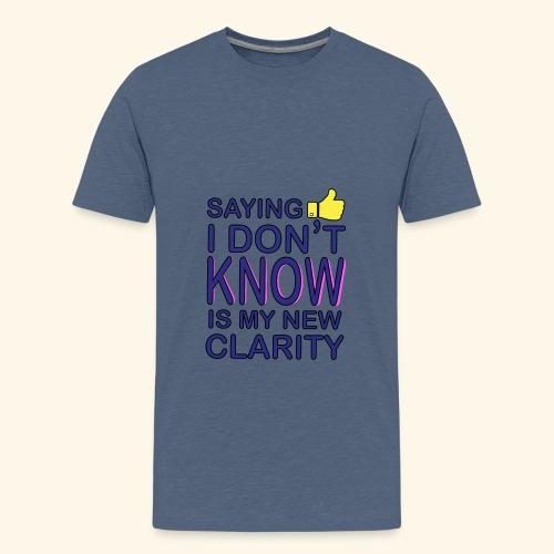 new clarity - Kids' Premium T-Shirt