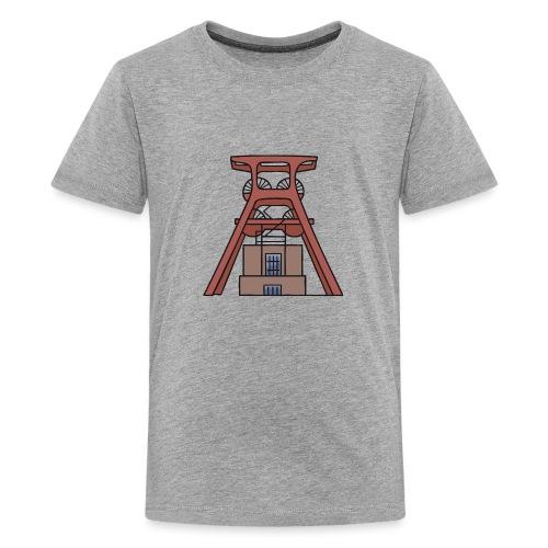 Zollverein Coal Mine Industrial Complex in Essen - Kids' Premium T-Shirt