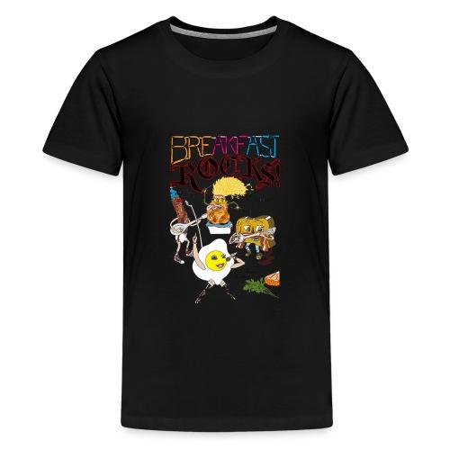 Breakfast Rocks! - Kids' Premium T-Shirt