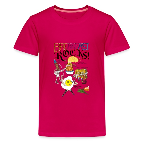 Breakfast Rocks! - Kids' Premium T-Shirt