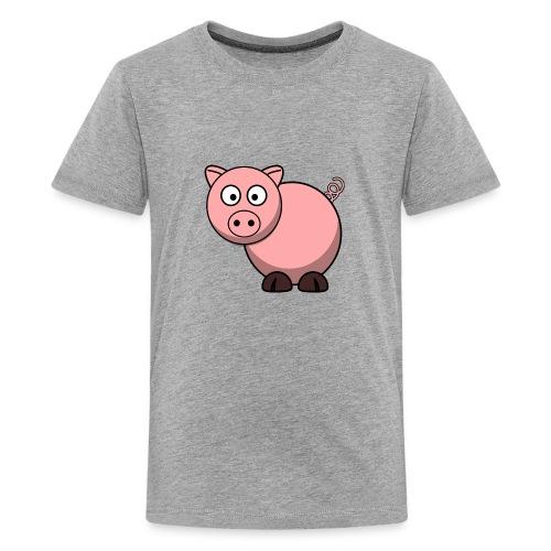 Funny Pig T-Shirt - Kids' Premium T-Shirt