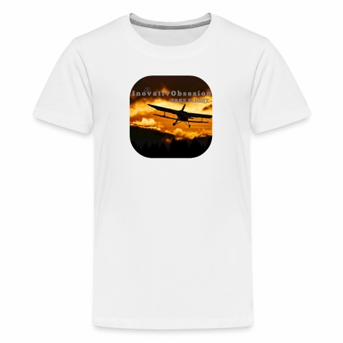 "InovativObsesion ""TAKE FLIGHT"" apparel - Kids' Premium T-Shirt"