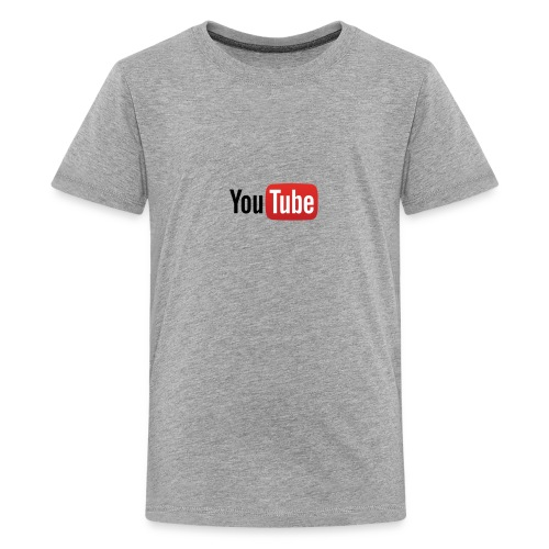 YouTube logo full color png - Kids' Premium T-Shirt