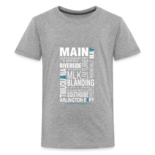 Jacksonville Streets - Kids' Premium T-Shirt