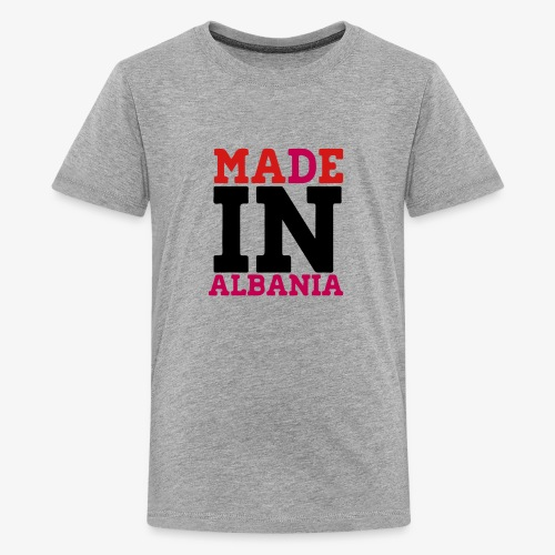 MADE IN ALBANIA - Kids' Premium T-Shirt