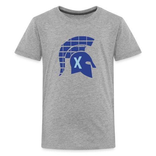 Spartans Tech Blue - Kids' Premium T-Shirt