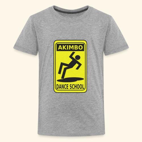 Akimbo Dance School - Kids' Premium T-Shirt