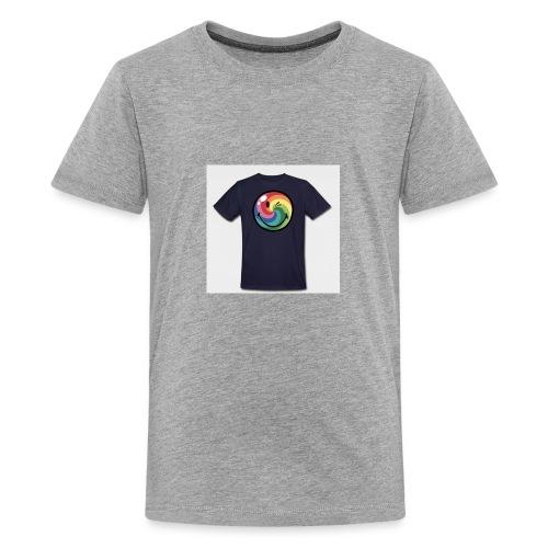 winking smile - Kids' Premium T-Shirt
