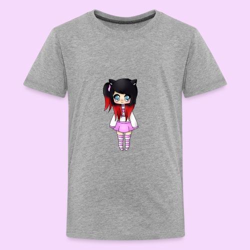 Chibi Wolfie - Kids' Premium T-Shirt