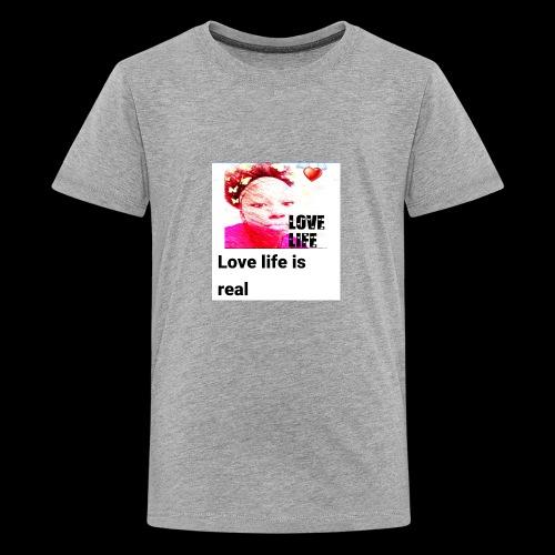LOVE LIFE - Kids' Premium T-Shirt