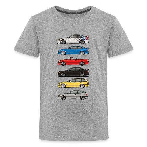 Stack of E36 Variants - Kids' Premium T-Shirt