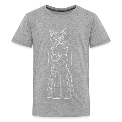 Hipster Cat - Kids' Premium T-Shirt