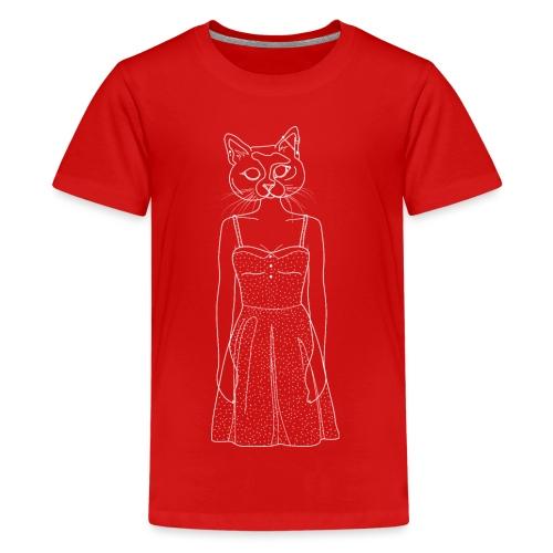 Hipster Cat - Kids' Premium T-Shirt