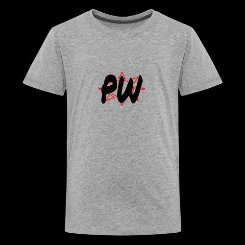 PW Bacon Red&Black - Kids' Premium T-Shirt