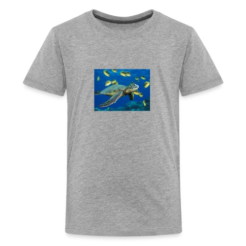 Green Sea Turtle - Kids' Premium T-Shirt