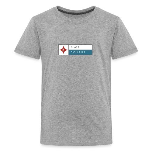 Platt College Logo 2000 - Kids' Premium T-Shirt