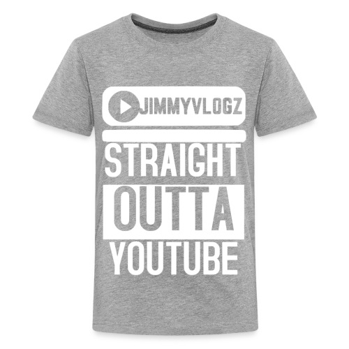 Straight Outta YouTube Merch! - Kids' Premium T-Shirt