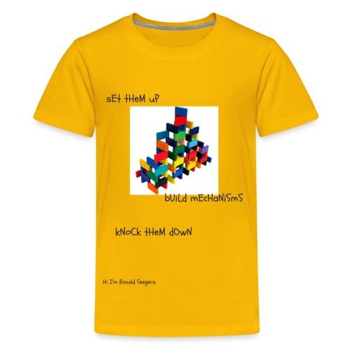 Hi I'm Ronald Seegers Collection-(transparent) - Kids' Premium T-Shirt