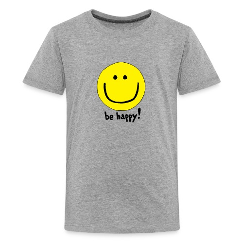 Be Happy Smiley Face - Kids' Premium T-Shirt