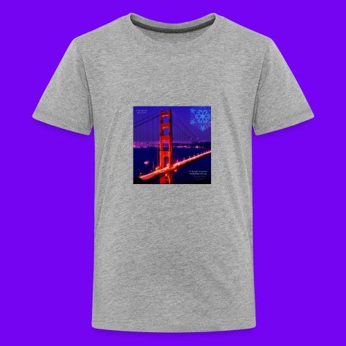 i'll alway$ remember chri$tma$ with you - Kids' Premium T-Shirt