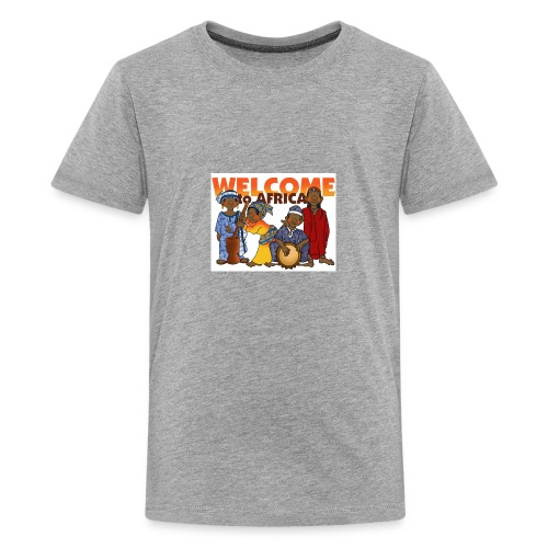 african welcome you - Kids' Premium T-Shirt