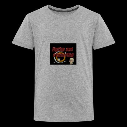 ligths out exploring - Kids' Premium T-Shirt