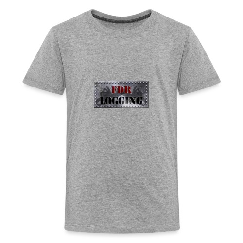 FDR Logging Main Logo - Kids' Premium T-Shirt