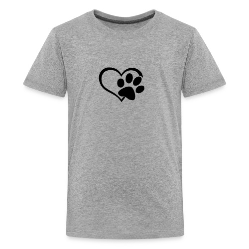 LOVE DOG - Kids' Premium T-Shirt
