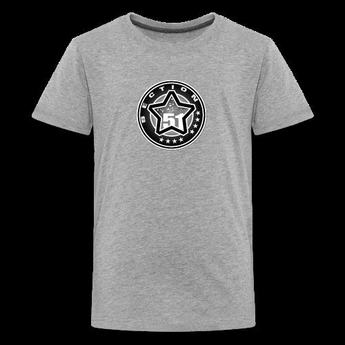 logo section51 NB - Kids' Premium T-Shirt